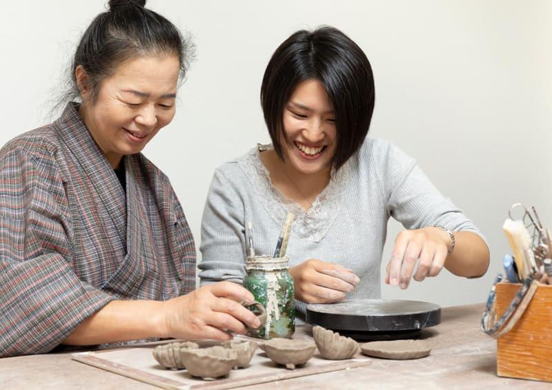 Obori Soma-ware Kyogetsu Pottery/ Image of pottery class