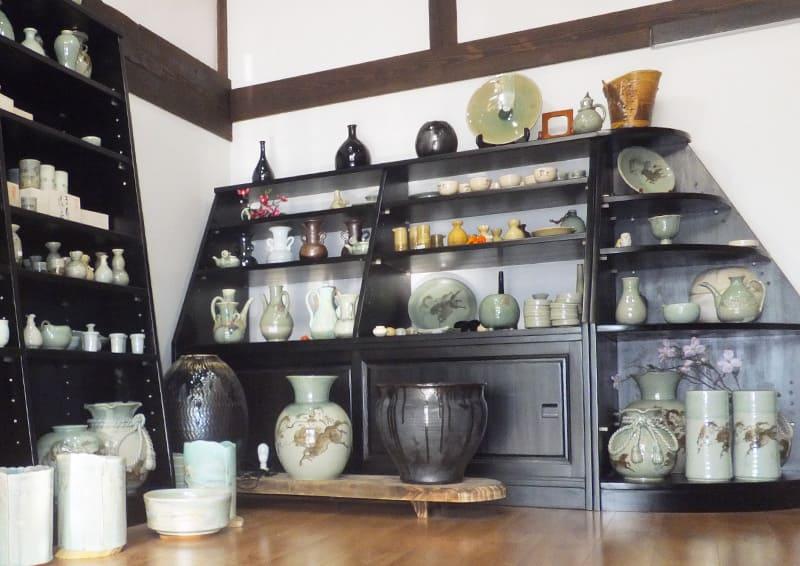 Obori Soma-ware Kyogetsu Pottery/ Gallery entrance